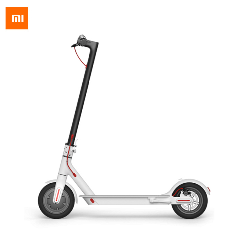 все цены на UPS No Tax Original Xiaomi M365 Scooter Electric 8.5 inch Inflatable Tire 25km/h 100kg Max Load Aircraft-grade Material онлайн