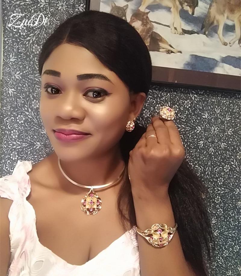 African Beads Jewelry Set Nigerian Woman Wedding jewelry