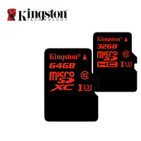 Original Kingston Digital MicroSDHC 32GB SDXC 64GB UHS I U3 Speed Class 10 Flash Memory Card