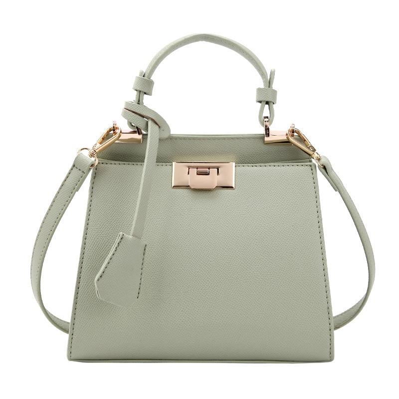 Elegant Female Tote bag 2019 Fashion New High Quality PU Leather Women's Designer Handbag Simple Casual Shoulder Messenger bag