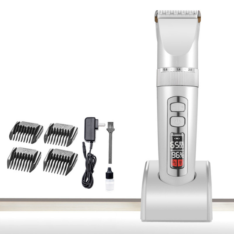 Dog Haircut Machine Pet Hair Trimmer Animals Grooming Clippers Professional Shaver Dog Cat Electric Hair Cutter