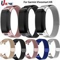 Миланский ремешок для часов Ремешок для Garmin Vivosmart HR Смарт-часы браслет из нержавеющей стали для Garmin Vivosmart HR