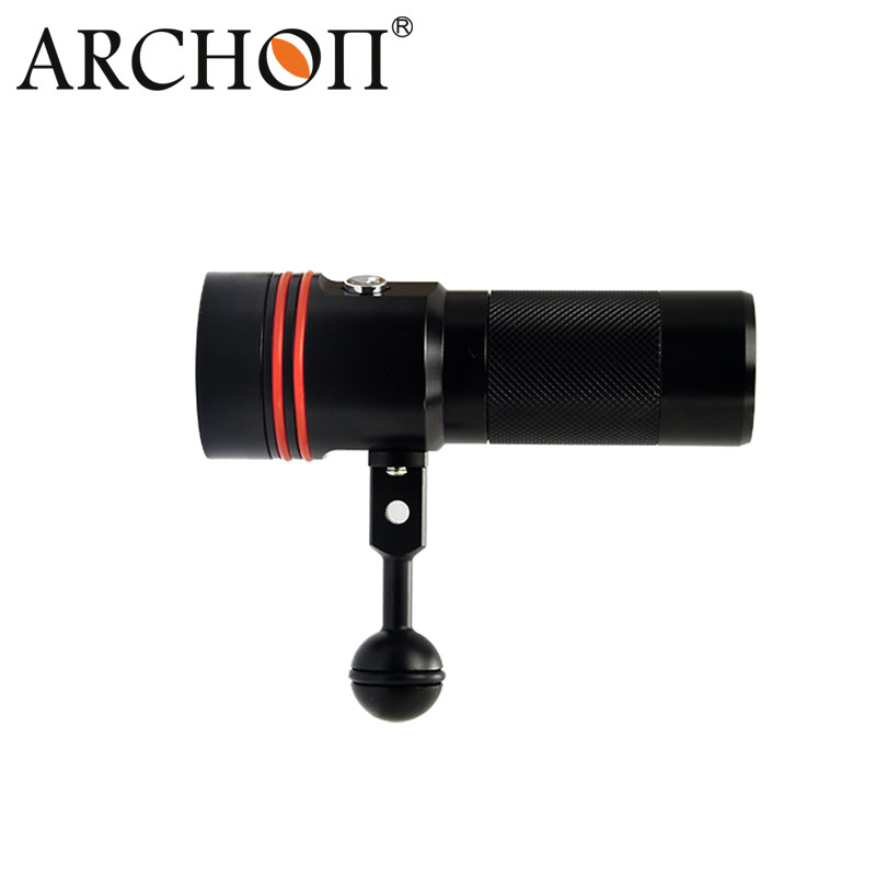 ARCHON D34V (W40V) video light underwater UV/ red scuba photography light LED Diving flashlight +battery + charger+Z05 clamp