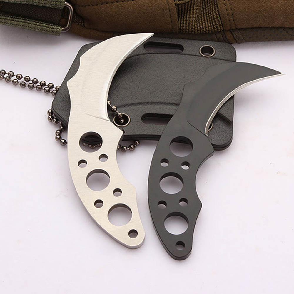 Multitool EDC Knife Camping Equipment Outdoor Survival Mini Creative Stainless Steel Necklace Tool Portable Gadget Camp Gadget(China)