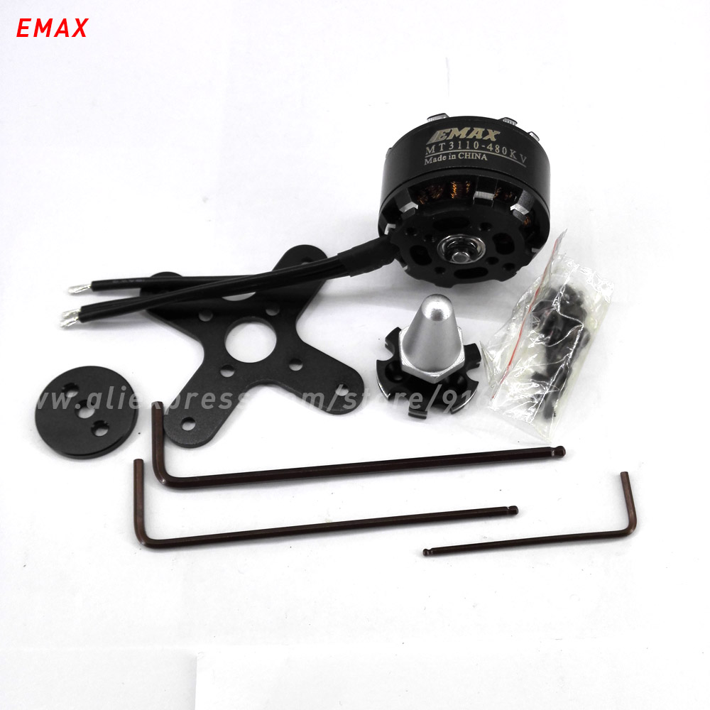 EMAX MT3110 rc  480kv 700kv brushless motor drone multi axis copter 4mm shaft outrunner helicopter quadcopter parts  цены