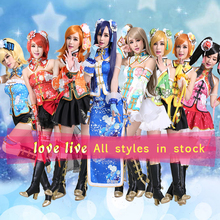 Новинка Lovelive Maki Nishikino Minami Kotori Awaken Love Live Косплей чонсам