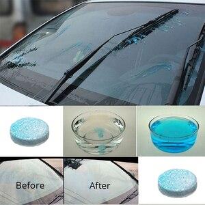 Image 5 - 1 חבילה מוצקה רכב מגב בסדר מכונת טבליות תוססות מנקה גלולות חלון ניקוי אוטומטי שמשה קדמית זכוכית מנקה