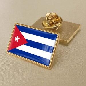 Куба/кубинцы брошь в виде флага/значки/отворот