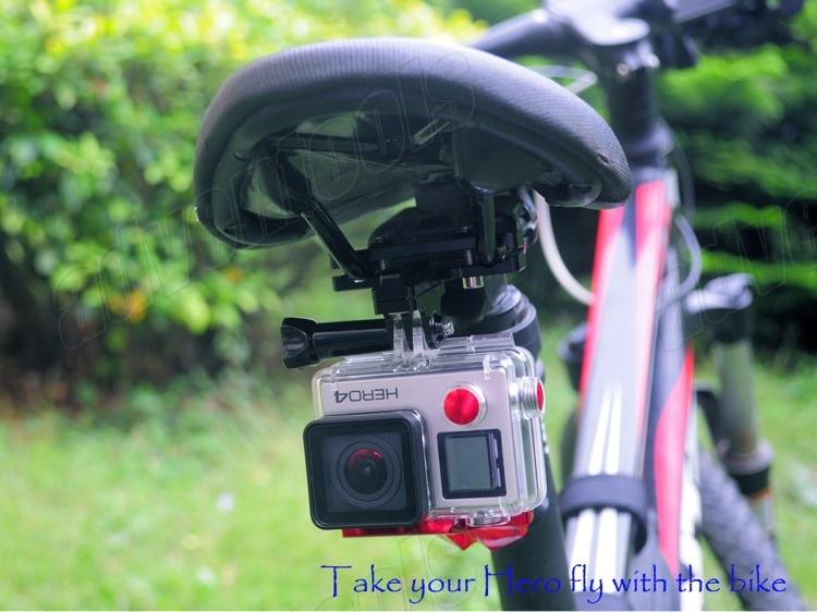 Kit de montaje de bicicleta de bicicleta Manillar de aluminio GoPro - Cámara y foto - foto 6