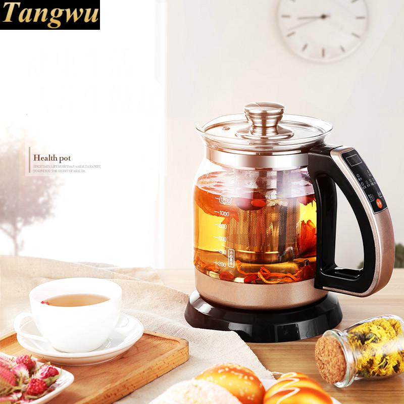 цена на glass electric heating kettle automatic power failure home insulation transparent small capacity Overheat Protection