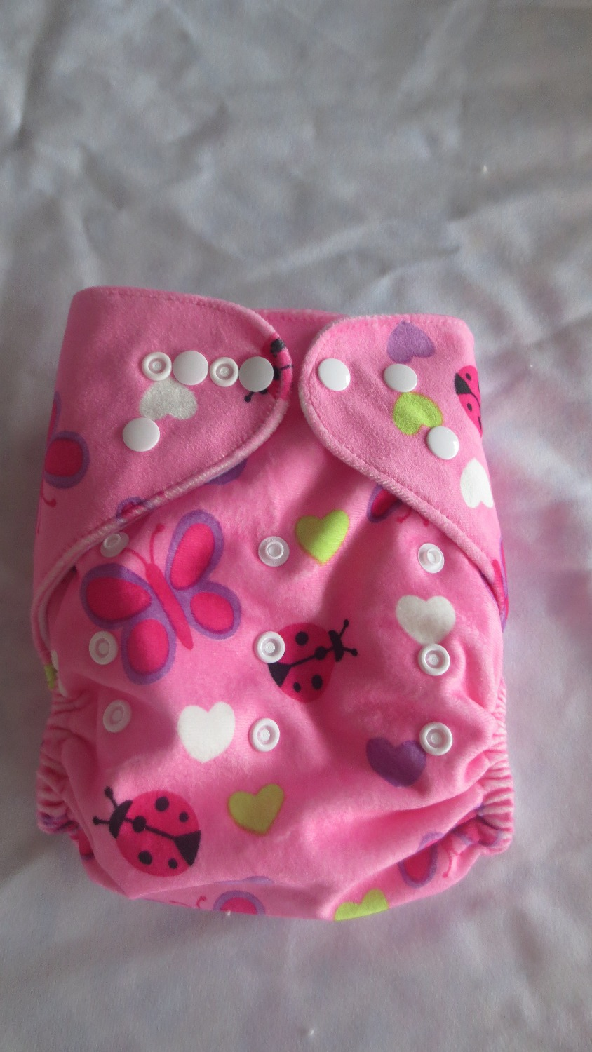 Supper Soft Minky Baby Daipers New Design Reusable Washable MInkee Pocket Cloth Diaper Nappy 1+2 Inserts 50 sets Free Shipping