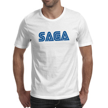 I Am A SAGA T-shirt Gamer Mega Nerd Geek Freak Design Funny Rock T Shirt Anime Novelty Creative Women Men Top