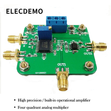 MPY634 four-quadrant analog multiplier operational amplifier module mixing frequency multiplication modulation demodulation