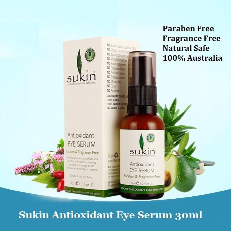 100%Australia quality Effective Natural Sukin Antioxidant Eye Serum Eye Dark Circle Rose hip Oil Aloe Vera Cucumber Eye Cream гель christina natural aloe vera gel