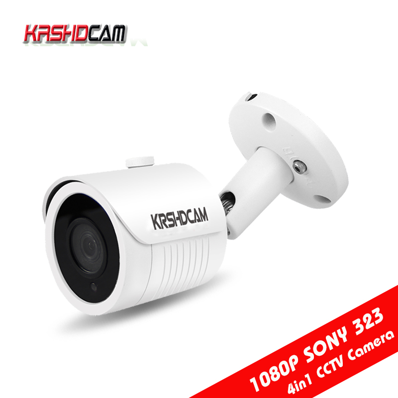1080P AHD Camera 4 in 1 bullet CVI/TVI/CVBS 3000TVL Waterproof IP66 Outdoor Night Vision CCTV Security cameras de seguranca krshdcam cctv security 1080p ahd camera 4 in 1 bullet camera 3 6mm lens waterproof ip66 outdoor video surveillance night vision