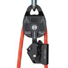 Высокое качество тяжелого подъемника Torrential Riser шкив Съемник веревки подъемное оборудование восхождения на открытом воздухе