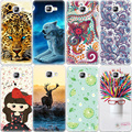 Pattern Phone Cases For Samsung Galaxy J5 J7 A3 A5 2016 S6 S7 Edge Grand Prime G530 Animals Flowers Printed TPU Cover Coque