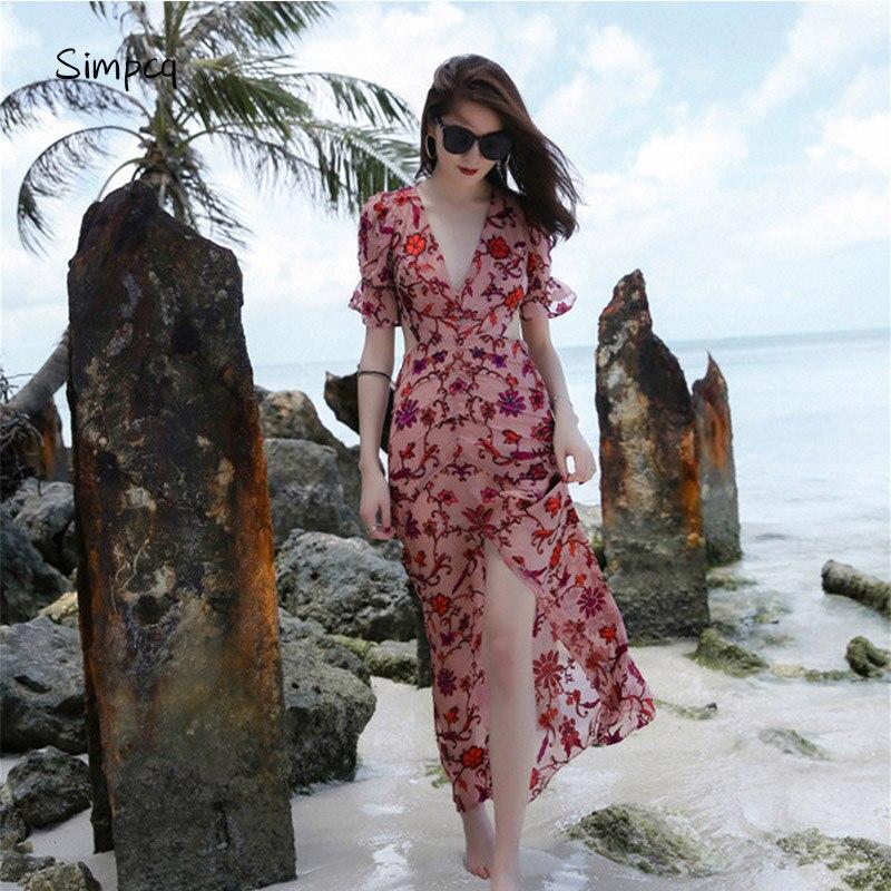 Ukraine Vestidos De Fiesta Top Fashion New Patchwork Bohemian Women Dress Holiday Perspective Jacquard Summer Style Bohemia