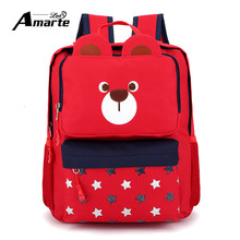 New Cute Animals School Bags for Girls Boys Kindergarten School Backpack Waterproof Kids Cartoon Baby Kids Children Backpacks(China (Mainland))