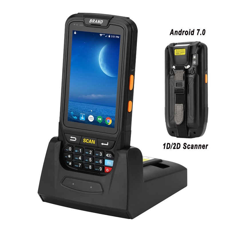 PDA Terminal 1D/2D Barcode Reader Android 7 Data Collector Wifi Bluetooth for Inventory Management Warehouse System цены