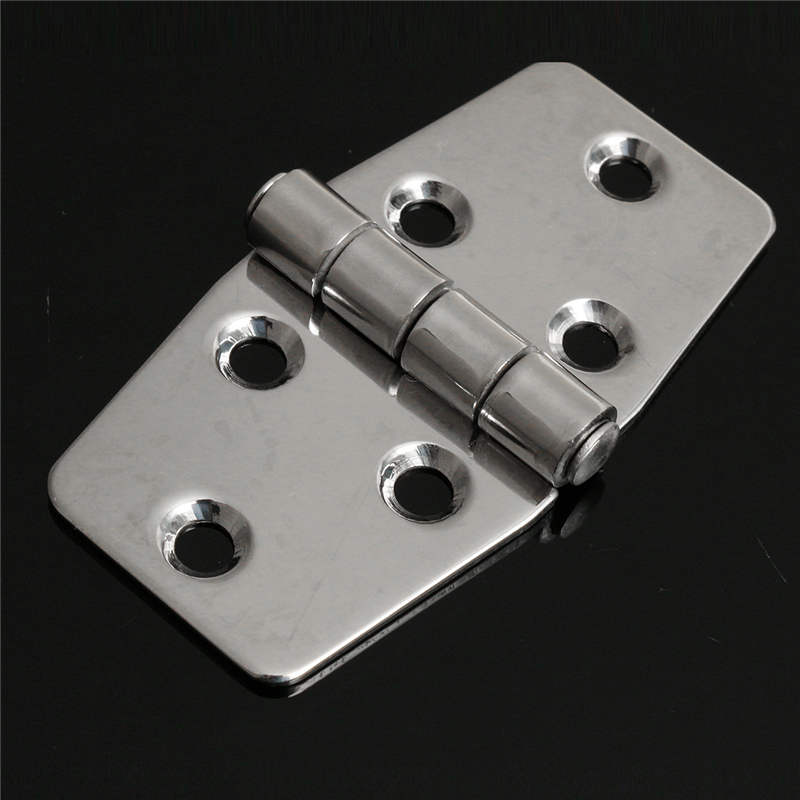 MTGATHER 3 INCH Stainless Steel Boat Marine Flush Door Hatch Compartment Hinges Silver Replacment Door Hardware Best Price цена