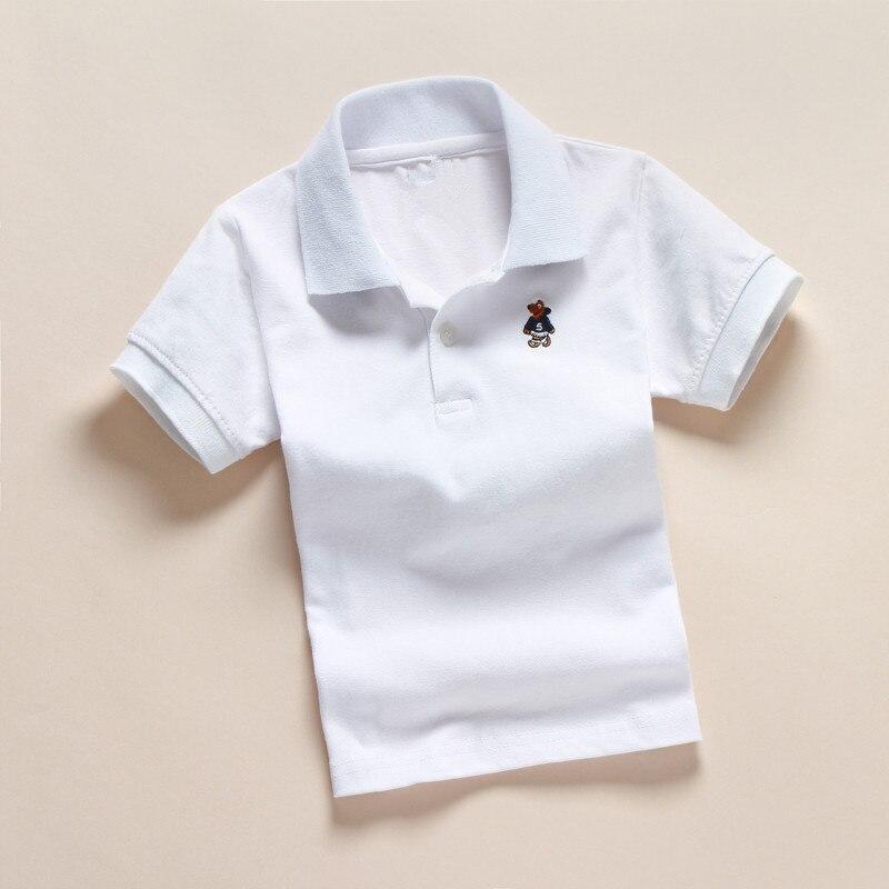 VEITCHE 2017 sommer marke kinder shirts kurzarm drehen unten kragen - Kinderkleidung - Foto 6