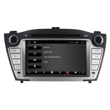 For Hyundai IX35(2009-2012)/Tucson(2009-2012) android 4.4 Quad core car dvd player GPS with 3G+Wifi+DVD+Radio+BT phonebook+Ipod