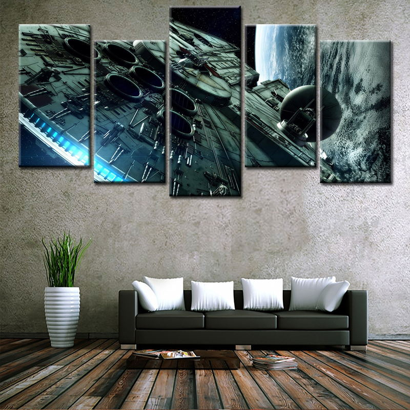 Home Goods Artwork: Wholesale High Quality Multi Panel Unframed Artwork Modern