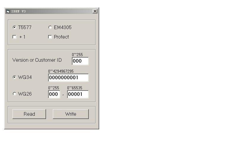 2016 NEW Simple without driver 125KHz EM4305 EM4100 / EM4200 T5577 card Reader & Writer/Programmer, copy ID access control
