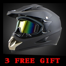 Envío Gratis Capacetes casco Santo Garra Off Road Casco de La Motocicleta ATV Dirtbke El Cross Motocross Cascos DOT WLT-125