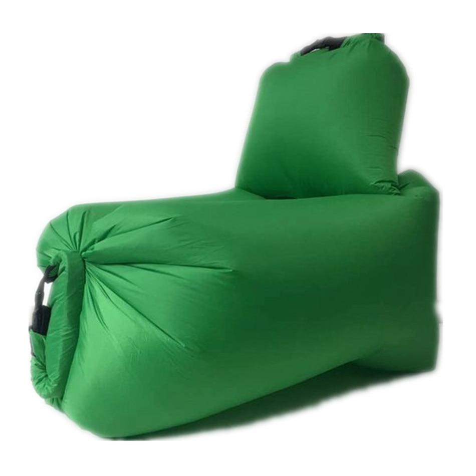 Aotu Fast Inflatable Air Sofa Lounger Chair Couch Hammock Lazy Bag Sleeping Bag Air Sofa Lazy Bones Beach Lounge