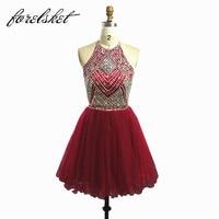 Sparkly Homecoming Платья для женщин 2017 Платья для женщин для Студенческая Вечеринка до колен Формальные Вечерние платья для молодых платья для дев