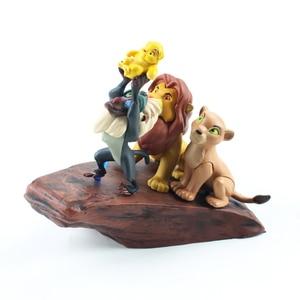 Image 3 - 7 ピース/セットライオンキング図おもちゃシンバnala mufasa sarabiプンバァティモンzazu鳥カバ動物モデル人形