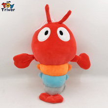 30cm Push Lobster Shrimp Toy Stuffed Cartoon Ocean Animal Be