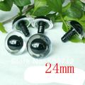 fress ship!!! 24mm Clear Safety Eyes / Plastic Eyes with plastic washers 25pairs