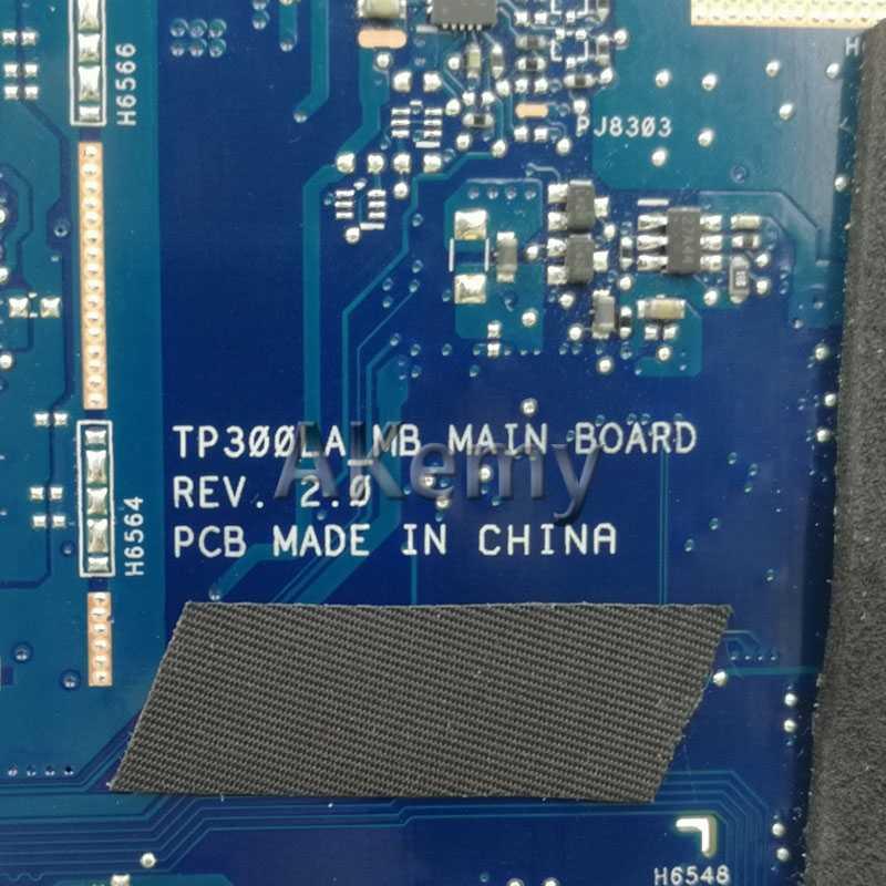 AK TP300LA محمول اللوحة الأم ل ASUS TP300LA Q302LA Q302L TP300 TP300L اختبار اللوحة الأصلية 4G RAM I5-4210U