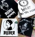 Justin Bieber Purpose Tour Short Sleeve T shirts Music Concert Fans Tee shirt What Do You Mean Clock Print Camisetas Hombre XXXL