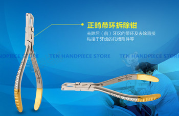 2018 good quality new arrival dental Orthodontic forceps pliers Demolition pliers with ring dentist tools