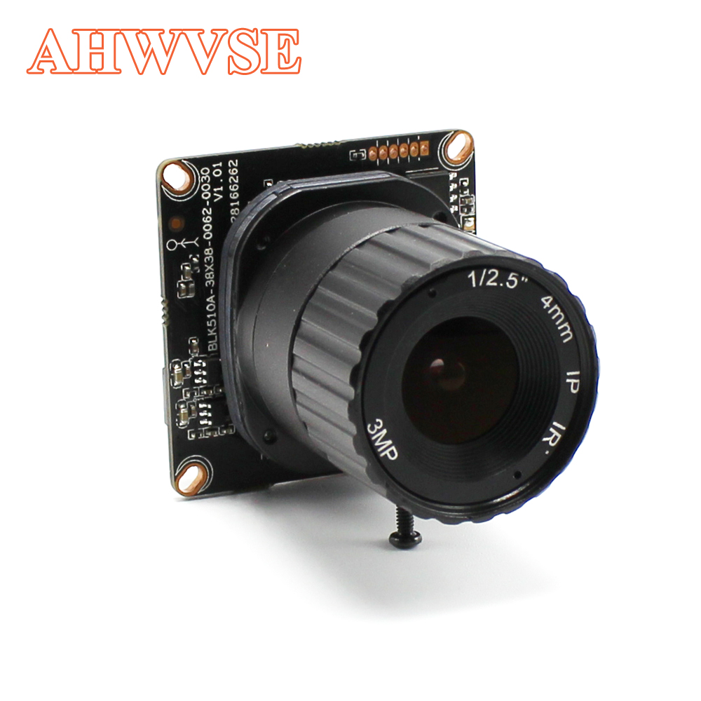 AHWVE 4MP OV4689 IP Camera Module Board CS LENS 16mm XMeye App Camera PCB CCTV Security Camera Surveillance ONVIF mobile 1080P 720p hd ip camera poe onvif 3 6mm lens ir cctv security surveillance camera 1 0mp network dome cameras xmeye app xmeye view