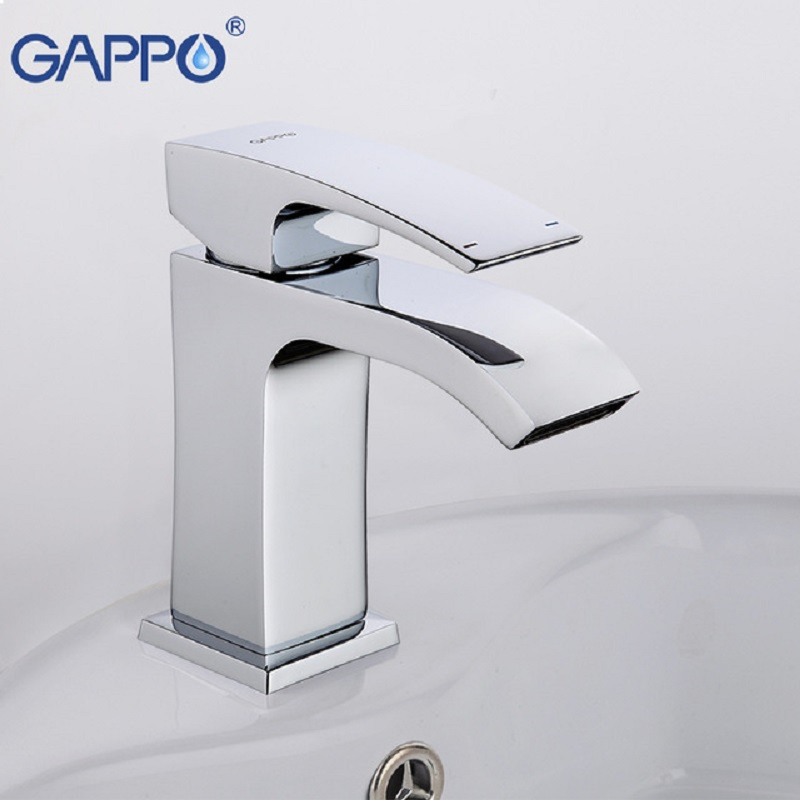 GAPPO Basin Faucet deck mounted waterfall basin mixer taps bathroom basin mixer faucet waterfall mixer faucets