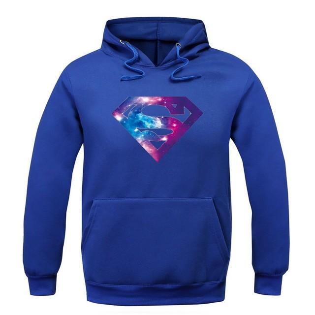 Superman Galaxy Logo Hoodie (8 Colors)