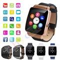 2016 bluetooth smartwatch relógio do esporte para ios smart watch x6 Telefone Android Com Suporte de Câmera Cartão SIM relógio de Pulso PK Q18 GV18