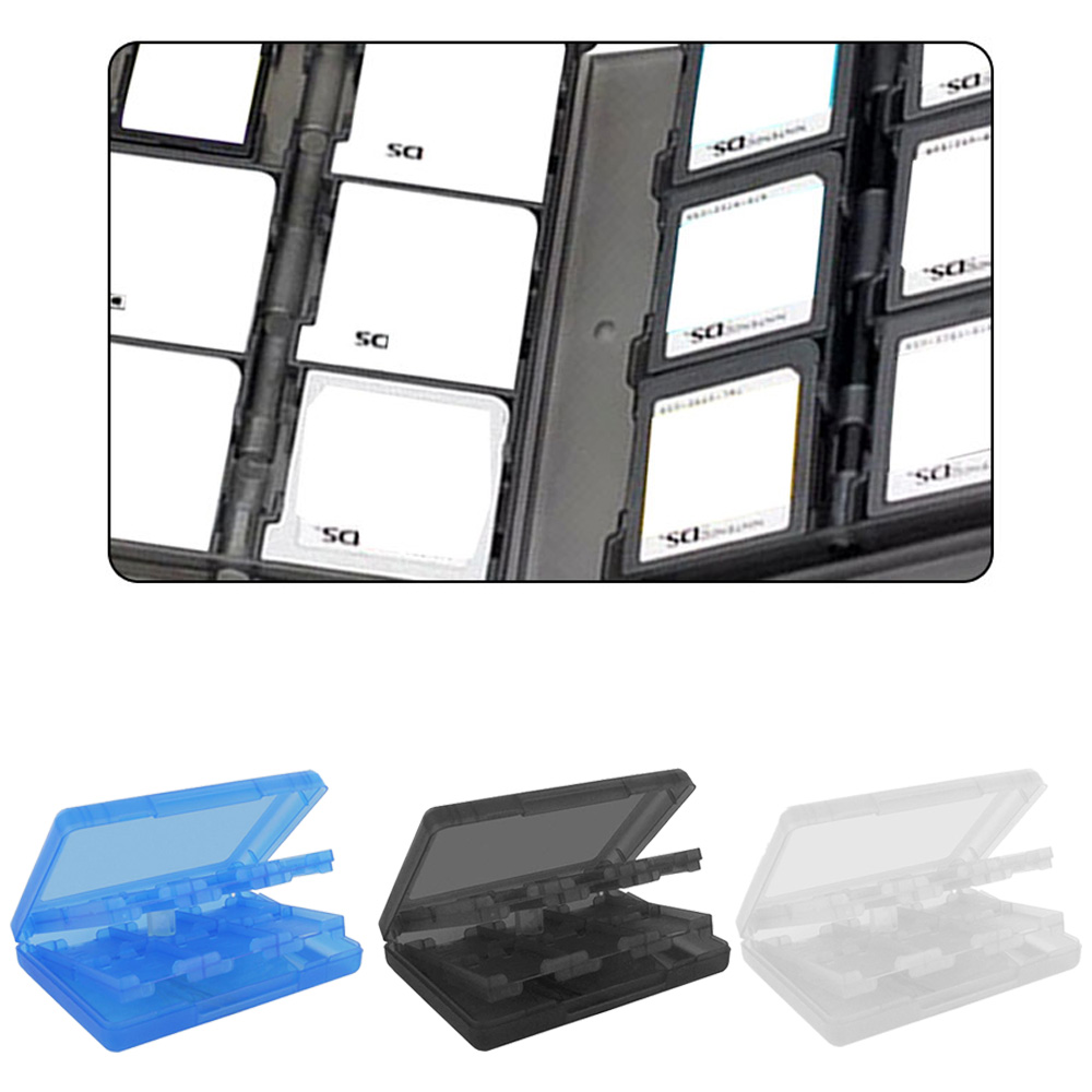 Bevigac Video Game SD Card Memory Card Micro SD Card Storage Box Case Holder for Nintendo NDS NDSi LL 2DS XL New 3DS LL XL