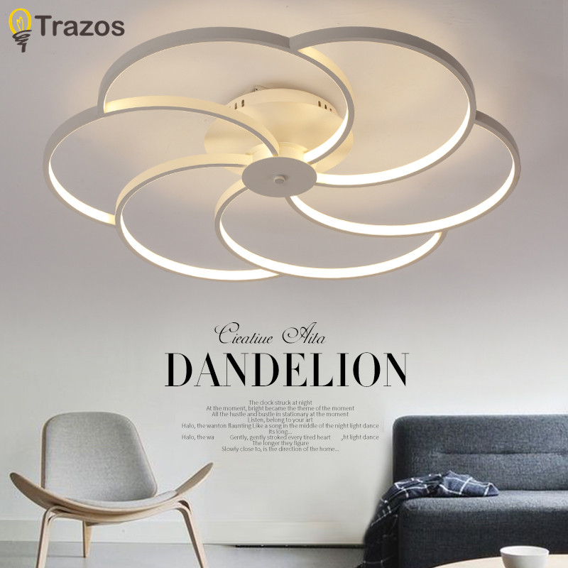 2017 modern Art Acrylic LED Ceiling Lights Living Room ceiling lights bedroom Decorative lampshade Lamparas de techo noosion modern led ceiling lamp for bedroom room black and white color with crystal plafon techo iluminacion lustre de plafond
