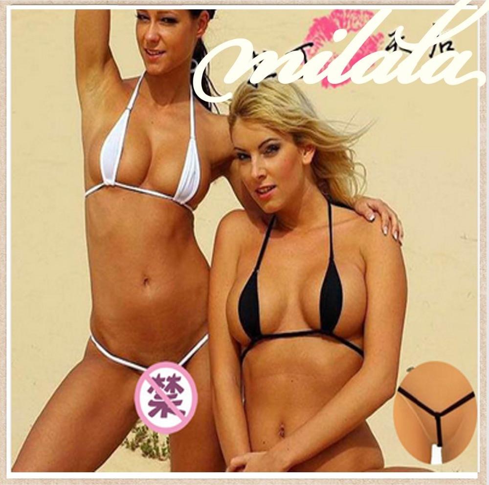 82060f137d7 Women Sexy Tiny Bikini Swimwear Extreme See Through Bras Suits 4 models Mini  Micro Swimwear Free Shipping Strings 2015 on Aliexpress.com   Alibaba Group