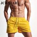 2017 nuevos hombres de secado rápido pantalones cortos de moda sea corto Maillot De Bain Bermudas de Playa Sexy Sólidos Pantalones Cortos de Los Hombres E301