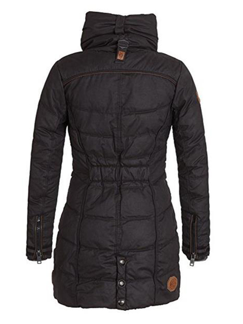 women Plus Size Womens Parkas Thicken Outerwear solid hooded Coats Short Female Slim Cotton padded basic tops