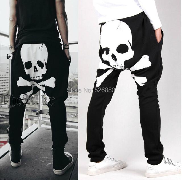 Homens de maré impresso haroun calças, Calça casual homens calças de calças de calças