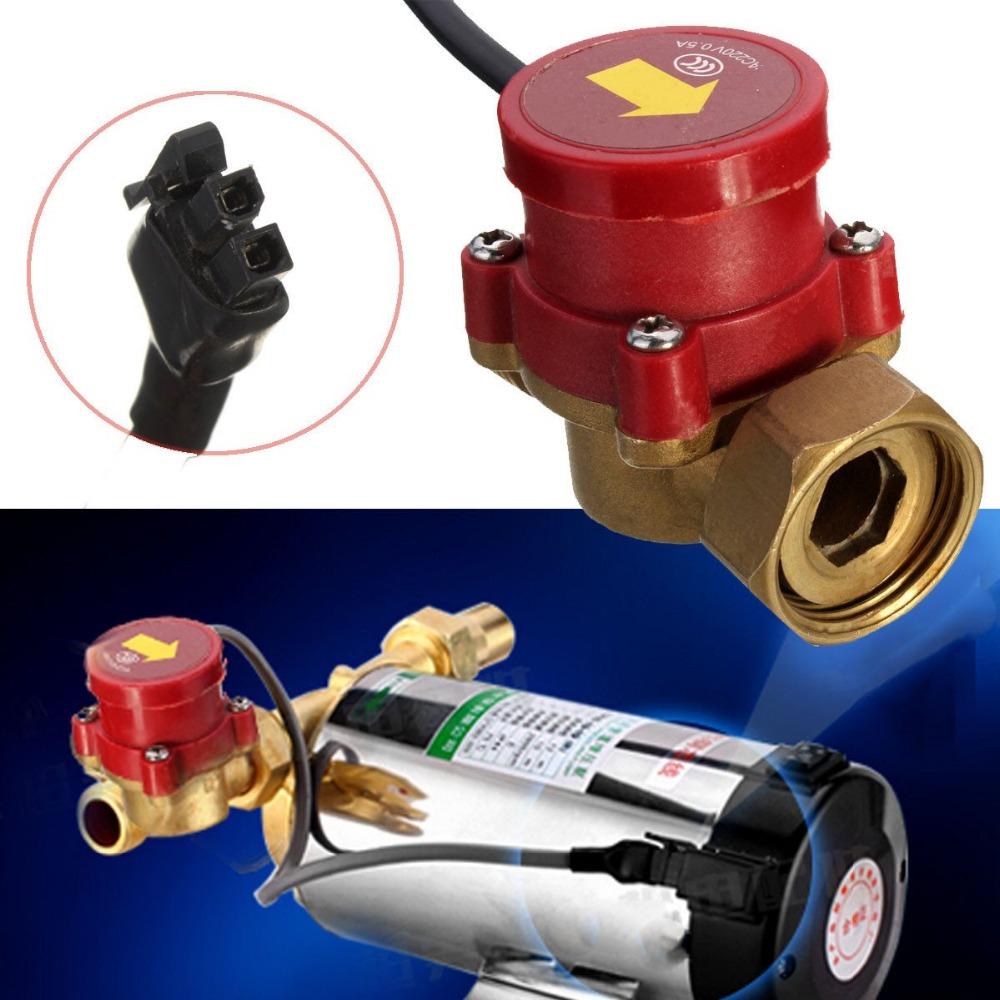 Safe-Stable-High-Temperature-67x50x35mm-120W-Female-to-Male-Circulation-Pump-Water-Flow-Sensor-Switch (4)