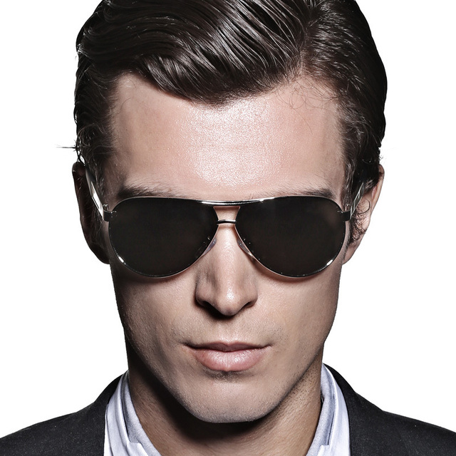 Hot 2016 Fashion Men Polarized Coating Sunglasses Eyewear with Case Box